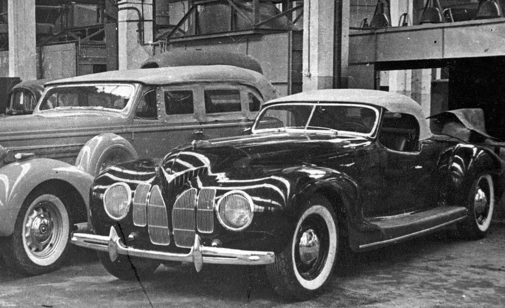 Забытые довоенные спорткары в СССР