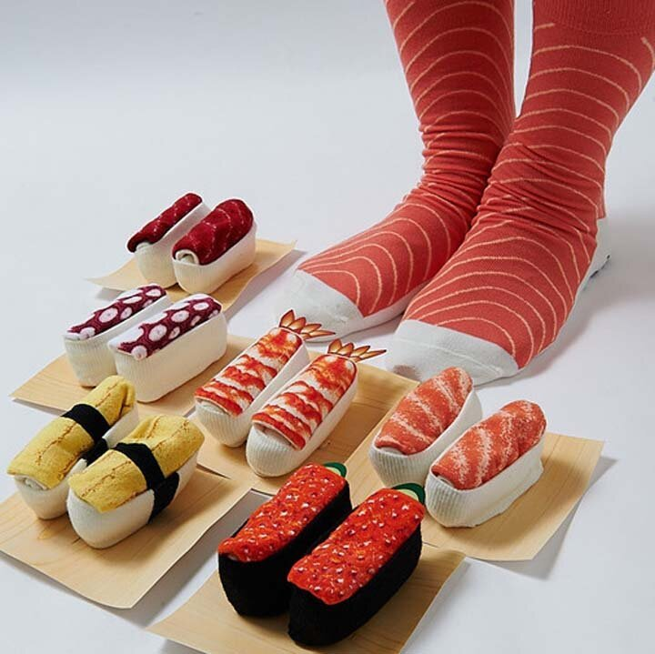 Носки для любителей суши