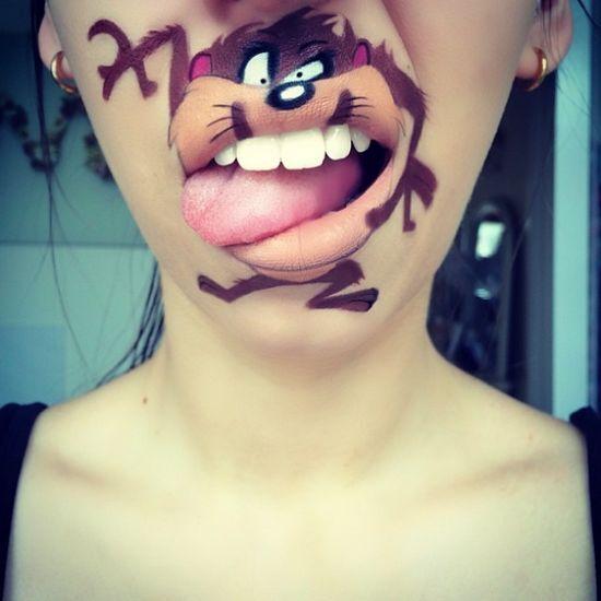 Забавный макияж