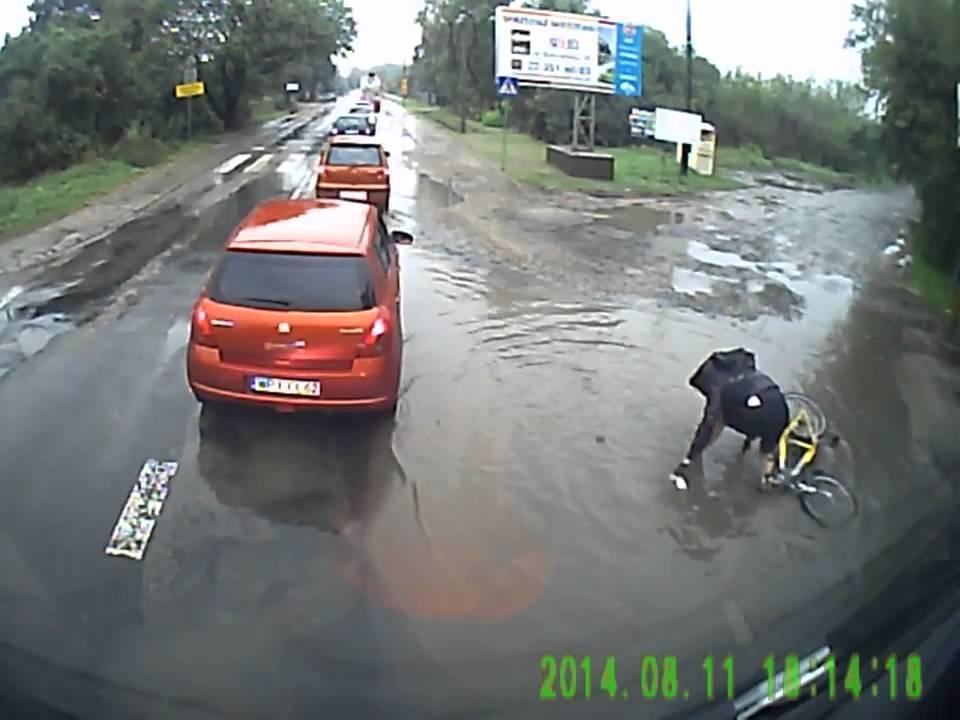 Велосипедист экстремал))