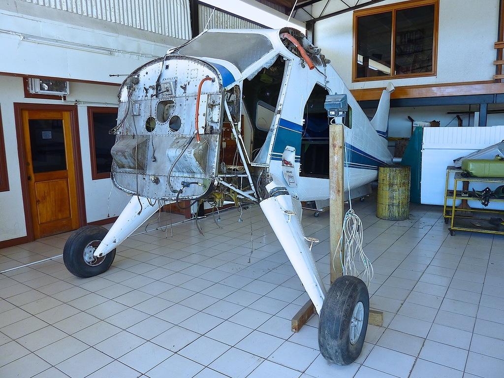 Конструкция легкого транспортного самолета  DHC-2 BEAVER
