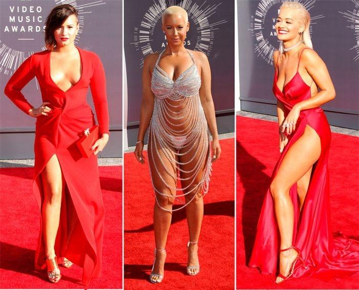 Самые странные наряды MTV Video Music Awards