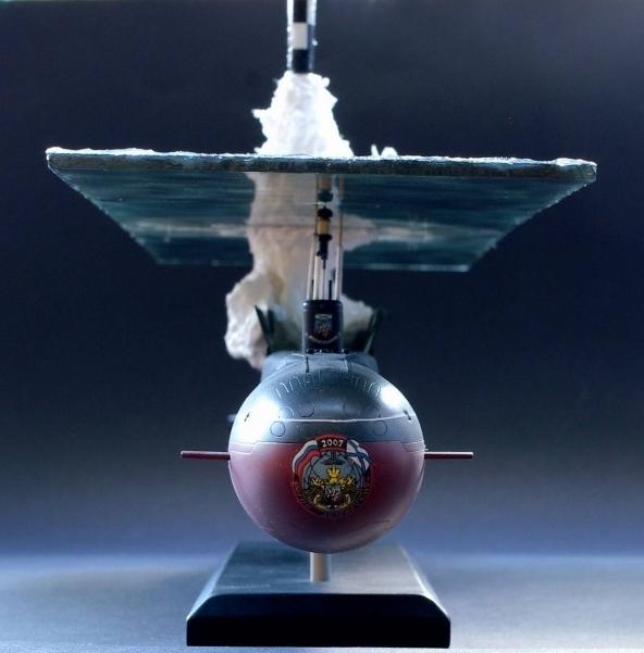 Крайне реалистичная модель подводной лодки