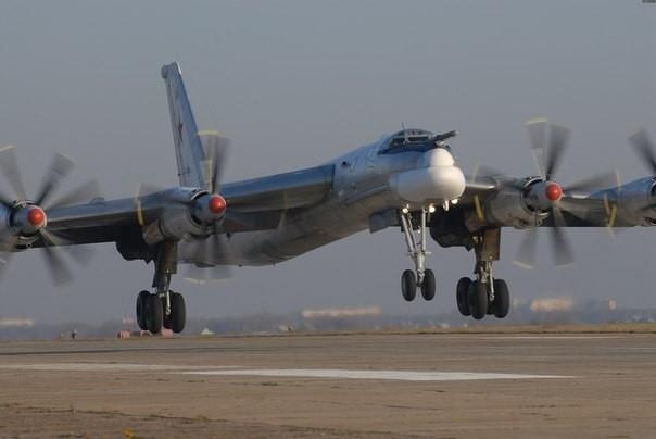 Стратегические бомбардировщики  отрепетировали ядерный удар по США