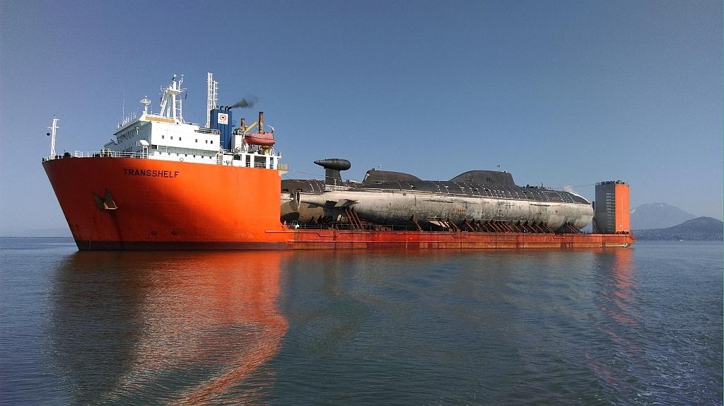 Как транспортируют подводные лодки