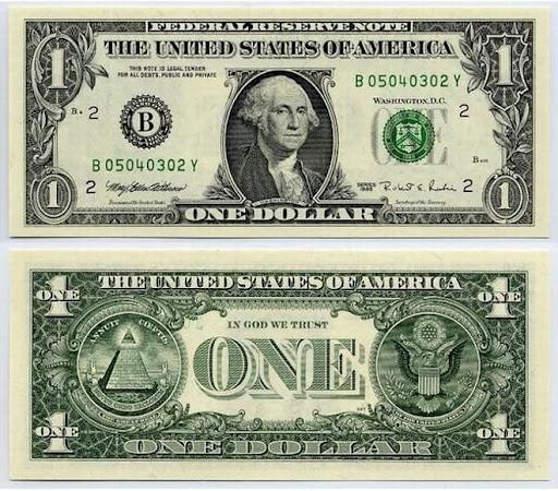 Тайна купюры в 1 доллар