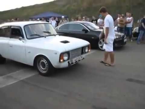 Москвич vs BMW 335