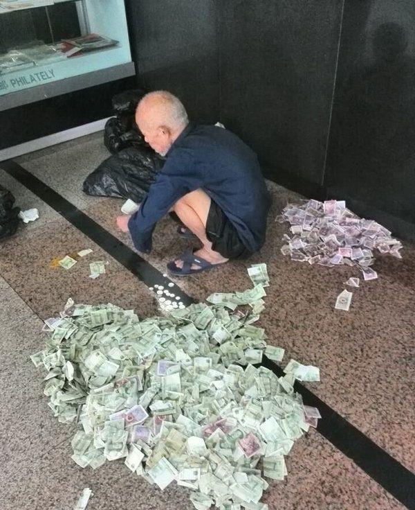 Сколько зарабатывают попрошайки в Пекине