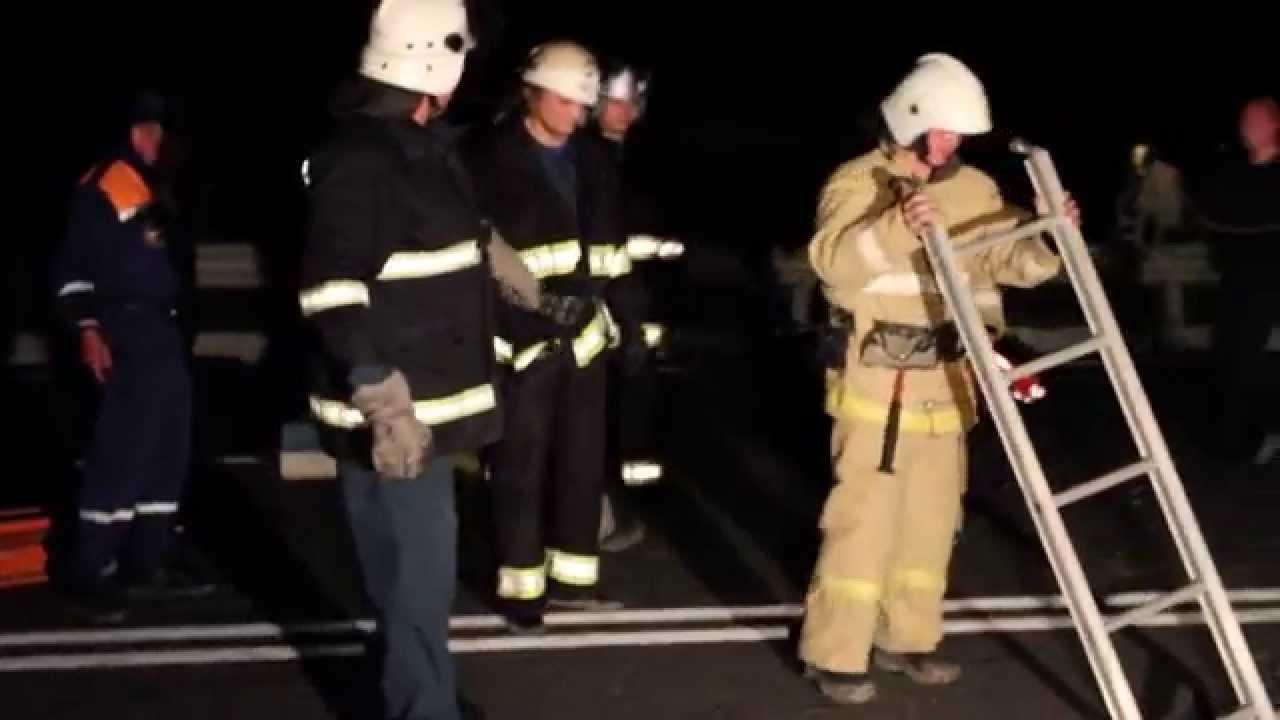 ШОК! Симферопольская дорога в ад! Обвал нового моста в Симферополе.