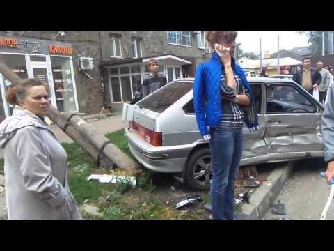 Ростов-на-Дону, ДТП на Крепостном 27.09.14 10:30