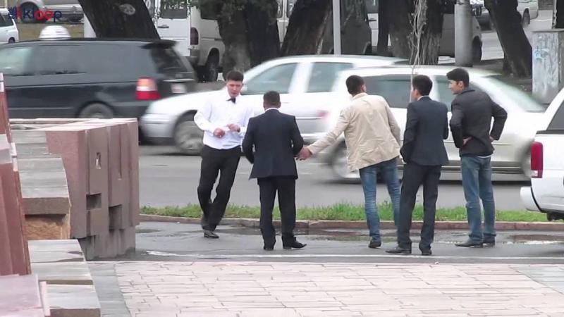 Бишкек. Свадьба. Драка