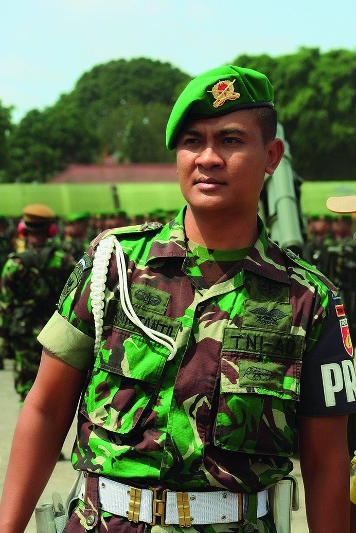 Береты военнослужащих Индонезии