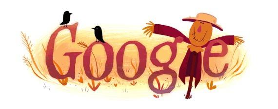 Хеллоуин - анимационные картинки от Google