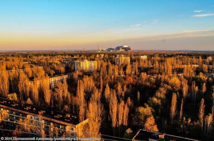 Осенняя пора в Припяти