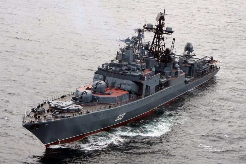 Корабли Северного флота России зашли в пролив Ла-Манш