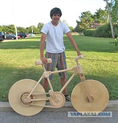 Деревянный транспорт