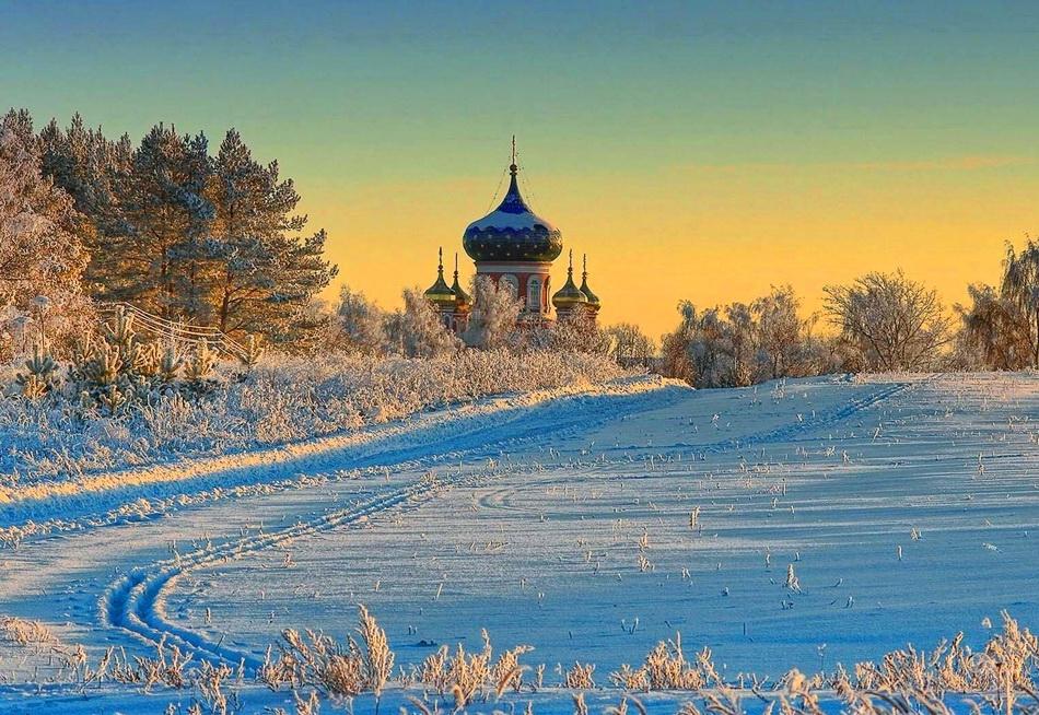 Потрясающие  фотографии зимней природы