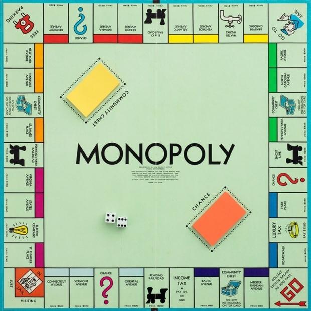 Монополия и улицы Атлантик-Сити