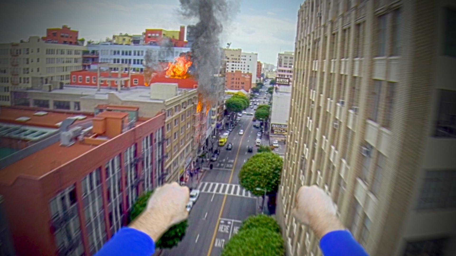 Мир глазами Супермена. Съемка GoPro камерой