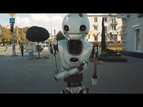 Робот в нашем жестком мире