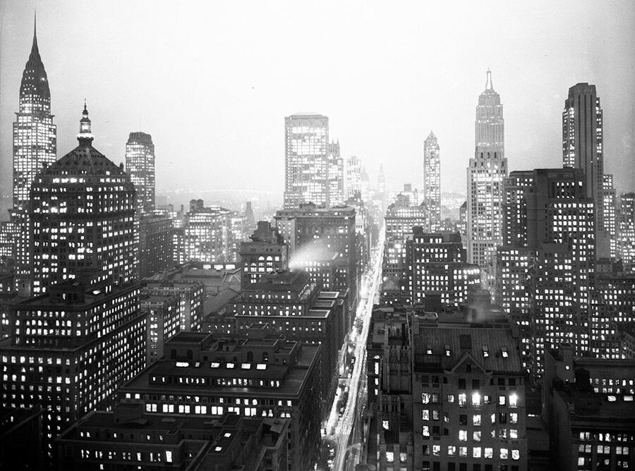 Исторические фотографии нью-йорка