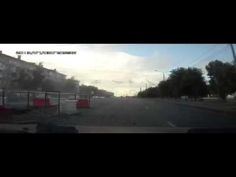 Суровая Челябинская Тойота Камри улетела в котлован