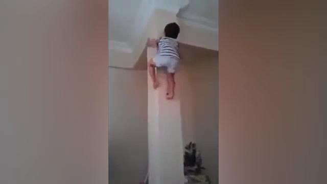 Детёныш спайдермена