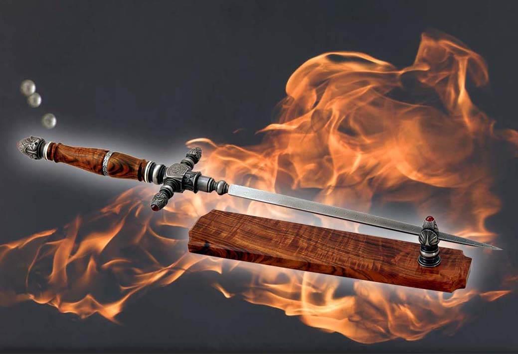 Потрясающе красивое холодное оружие Геннадия Соколова