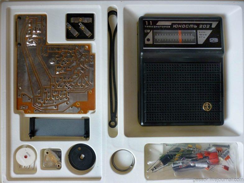 Радиоконструкторы для детей 80-90-х