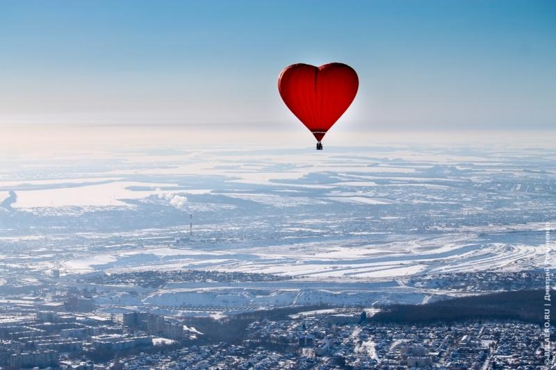 Сердце в небе над Белгородом