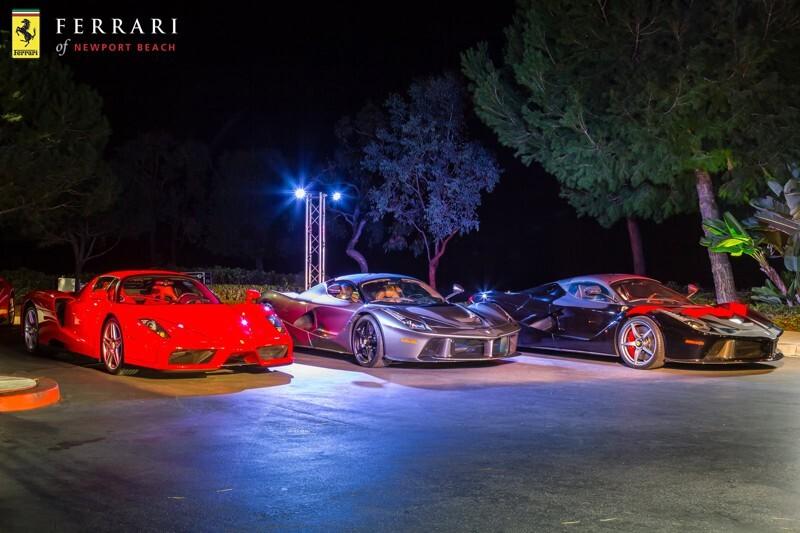 Встреча владельцев Ferrari в Калифорнии