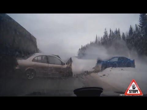 Самые запоминающиеся аварии зима 2015