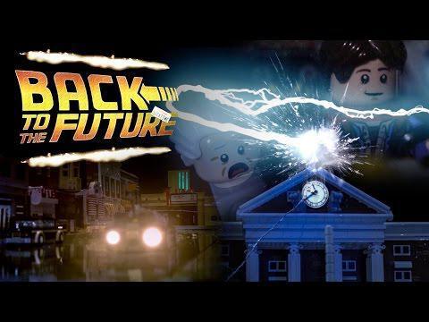 """Аниматоры воссоздали знаменитую сцену из фильма """"Назад в будущее"""" из деталей LEGO"""