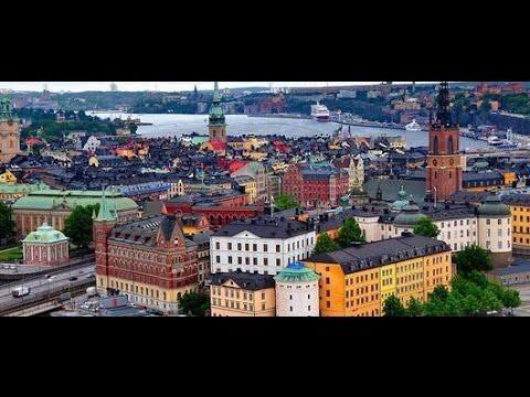 Time-lapse Северная Венеция, достопримечательности Стокгольма