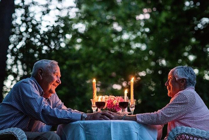 Пары, которые живут вместе более 50 лет