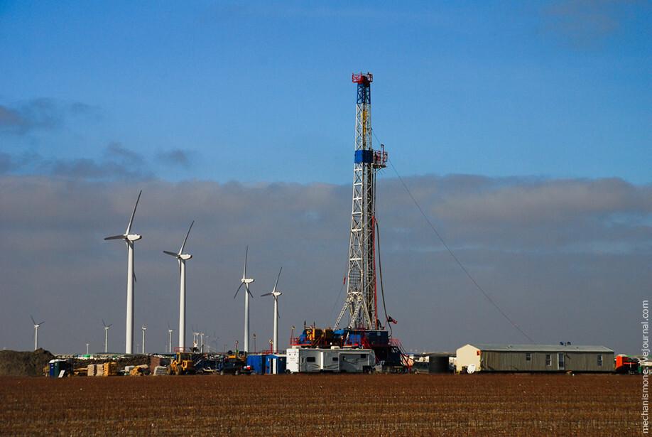 Нефть или ветряки?