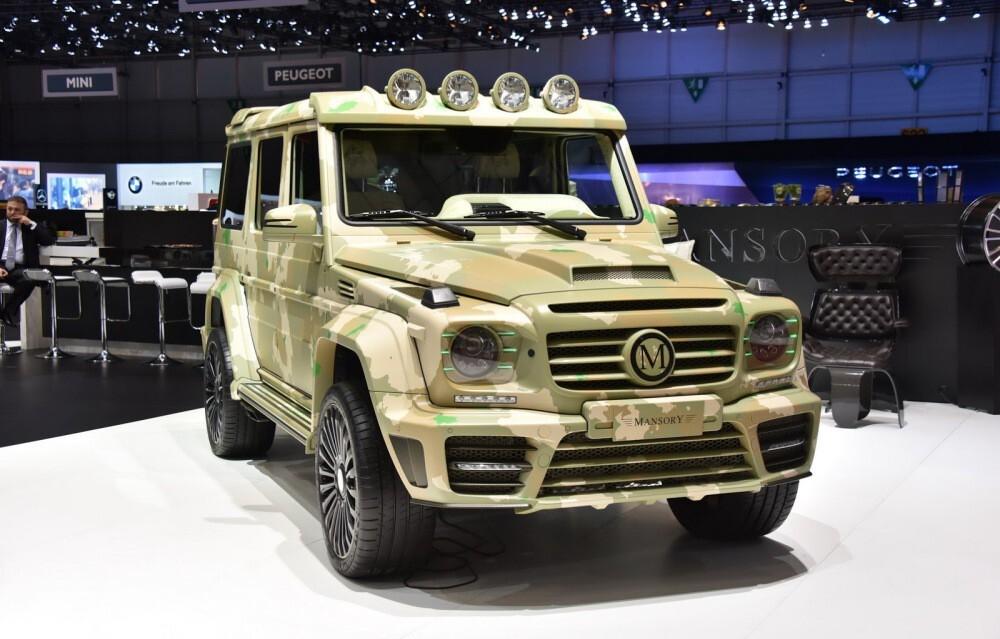 Mercedes-Benz G-Wagen vs. Land Rover Defender