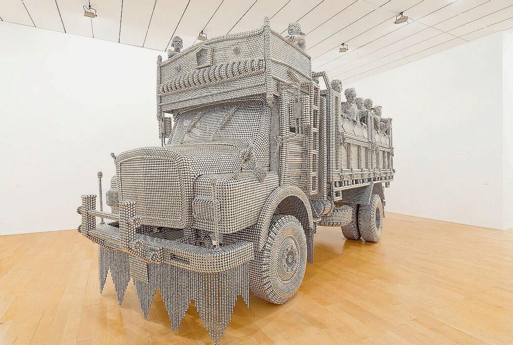 Изысканный грузовик точечной сварки