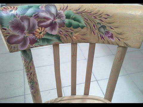 Как декорировать стул самостоятельно? Декупаж