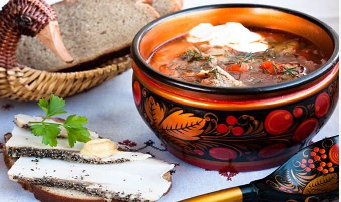 7 традиционных супов русской национальной кухни