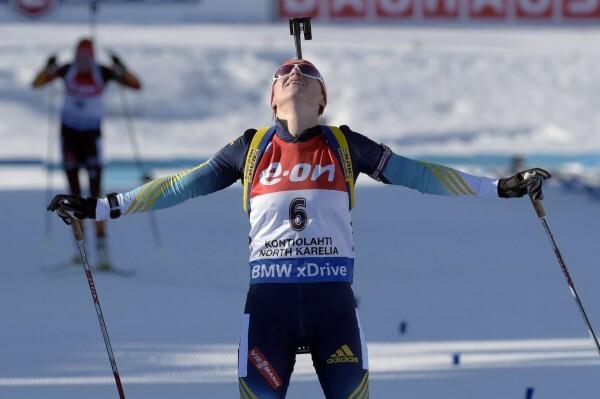 Валентина Семеренко - чемпионка мира в масс-старте!