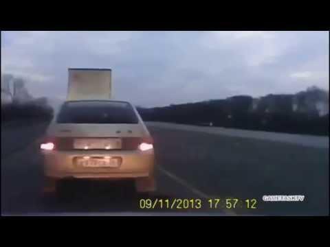 Водитель решил что самый умный