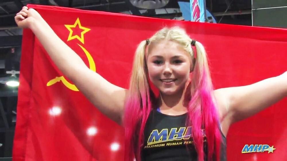 Сильнейшая девочка планеты Марьяна Наумова