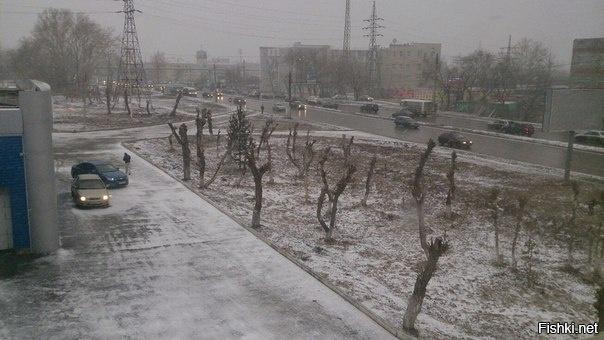 долгожданная весна в Челябинске приходить передумала