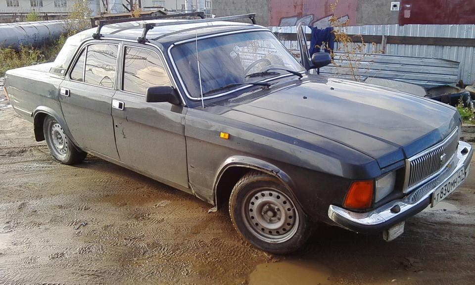 """Мускул-кар на базе """"Волги"""" ГАЗ-3102"""