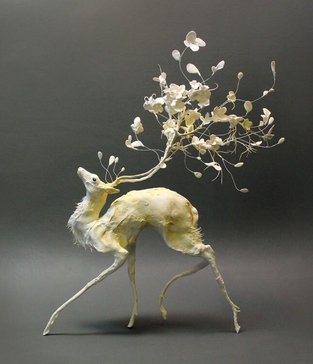 Фантастические создания из глины Эллен Джьюетт