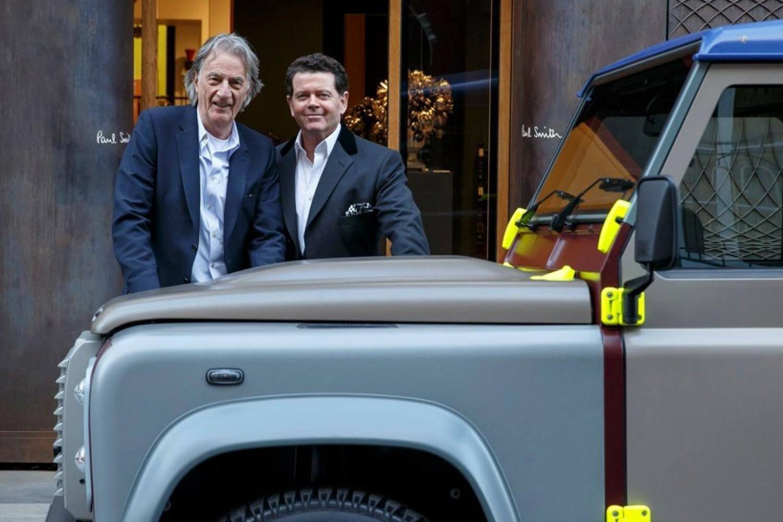Модельер создал специальную версию Land Rover Defender