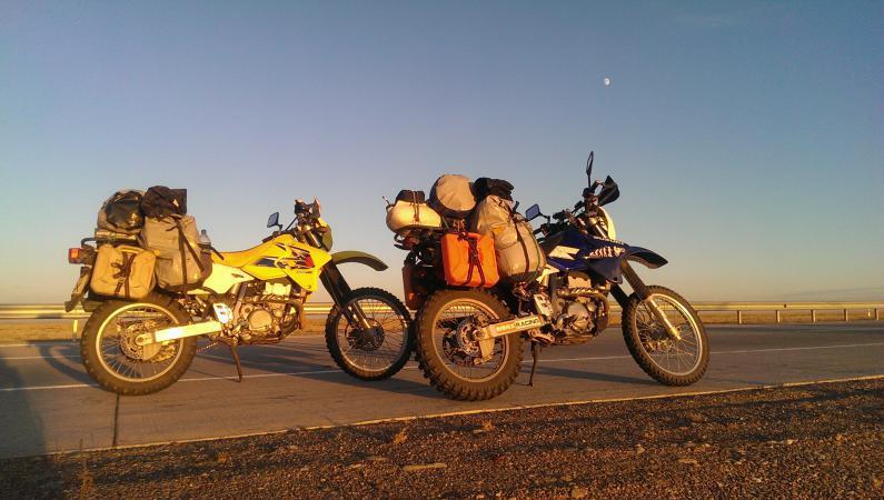 На эндуро через Казахстан
