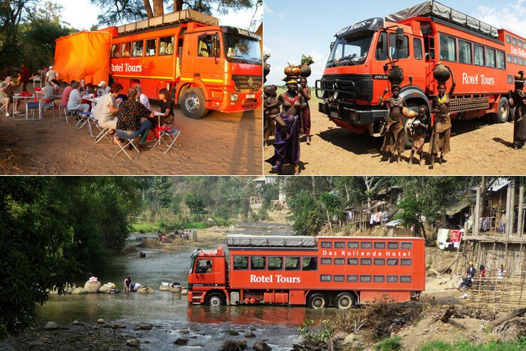Автобусы-гостиницы Rotel Tours