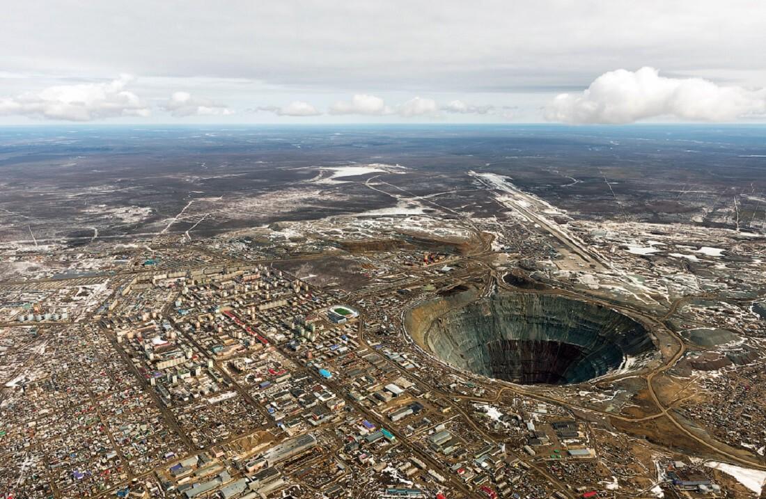Фоторепортаж из далекой Якутии или как добывают алмазы в России
